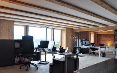 Neues Büro bei Heizfink