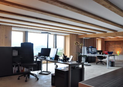 Umbau vom Stall zum Büro